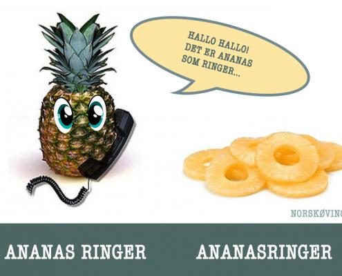 ananasringer VS ananas ringer